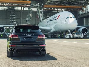 Porsche Cayenne sets world record