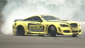 Leona Chin drifts a 600kW Supra in Thailand