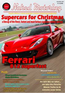 Naked Motoring magazine – December 2017 available from 21 November