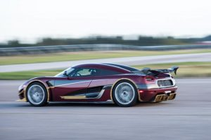 The Koenigsegg Agera RS is the fastest car in the world… for now