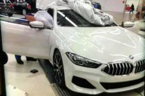 BMW 8 Series photographs leaked ahead of launch
