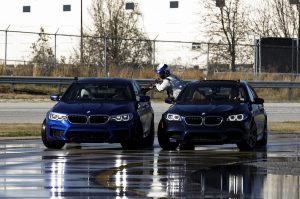 The new BMW M5 sets world record for longest drift