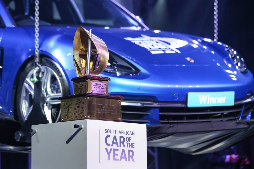 2018 WesBank South African Car Of The Year is the Porsche Panamera