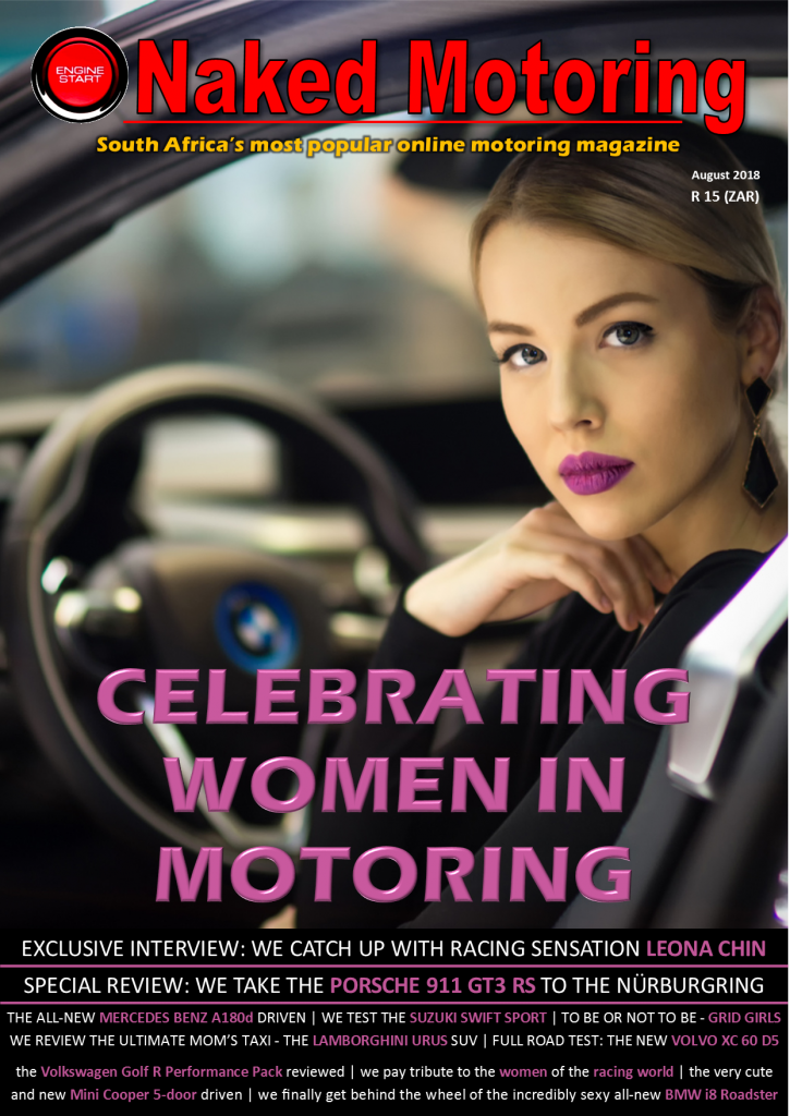 Naked Motoring magazine – August 2018