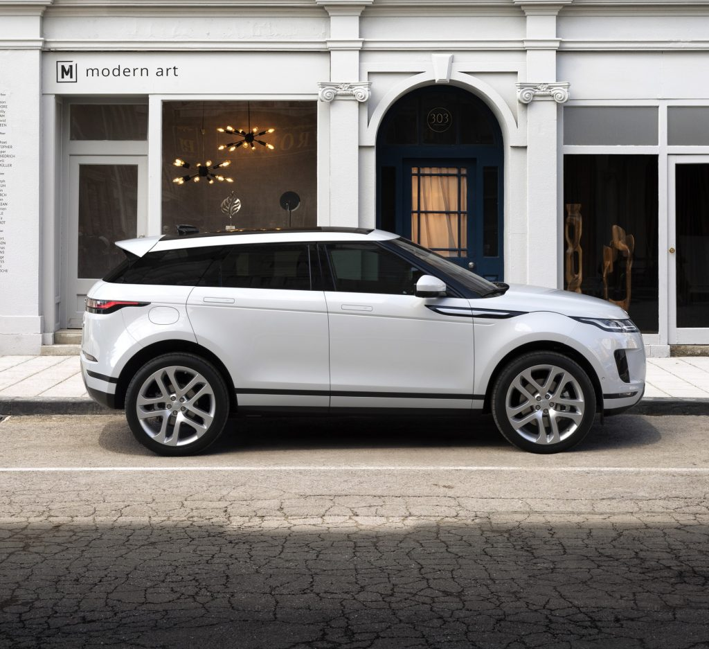 New Range Rover Evoque revealed in London (images)