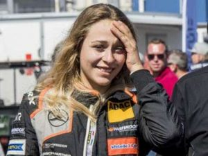 Formula 3 driver Sophia Florsch (age 17) injured in Macau crash