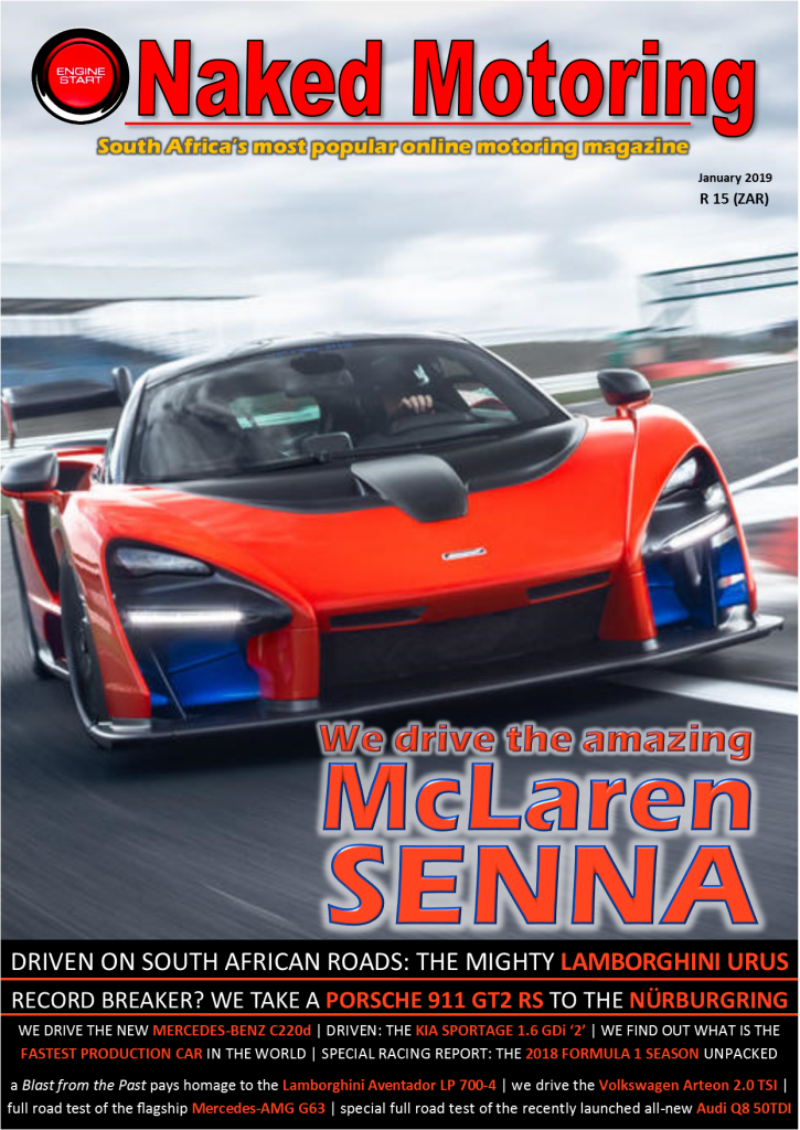 Naked Motoring magazine – January 2019