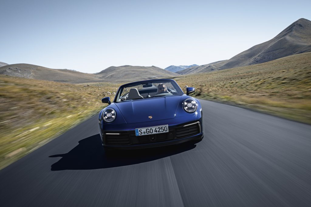Continuing a decades-long tradition: The new 911 Cabriolet