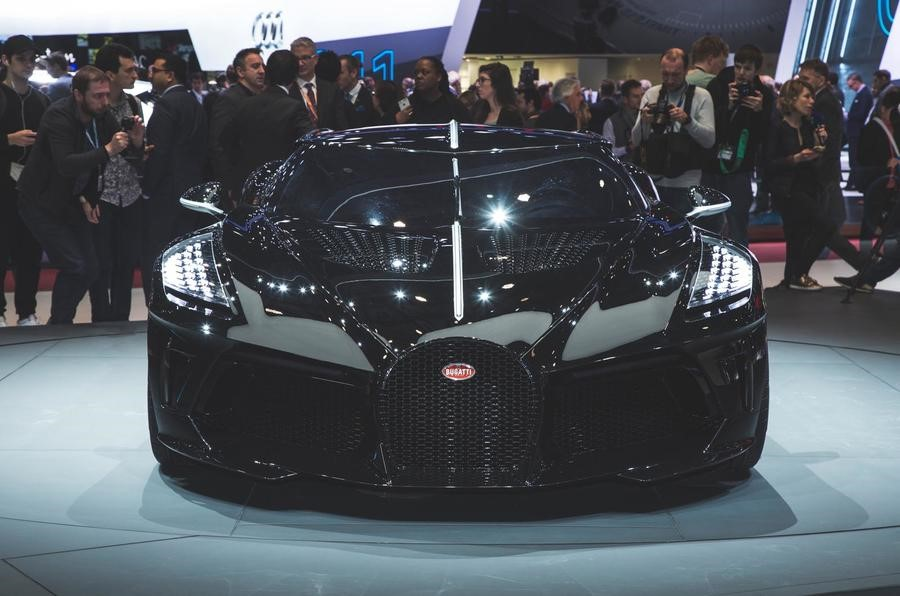Bugatti La Voiture Noire revealed as most expensive new car of all time