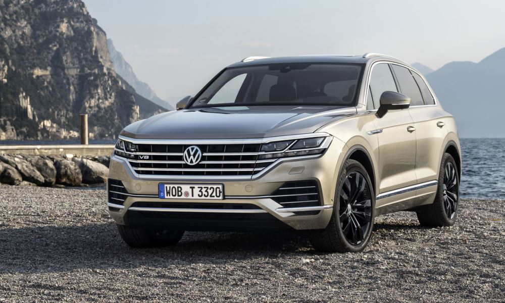 ALL-NEW AUTOBAHN STORMING TOUAREG V8 TDI REVEALED