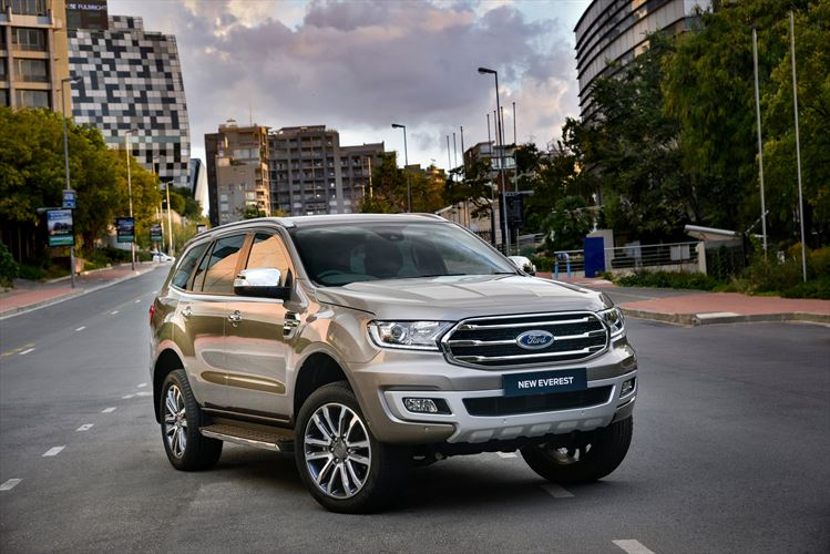 New Ford Everest Delivers Enhanced Design, Comfort and Performance