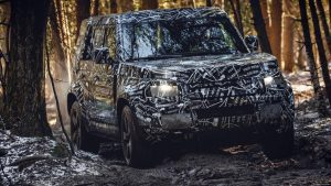 New Land Rover Defender to complete final phase of testing in Africa