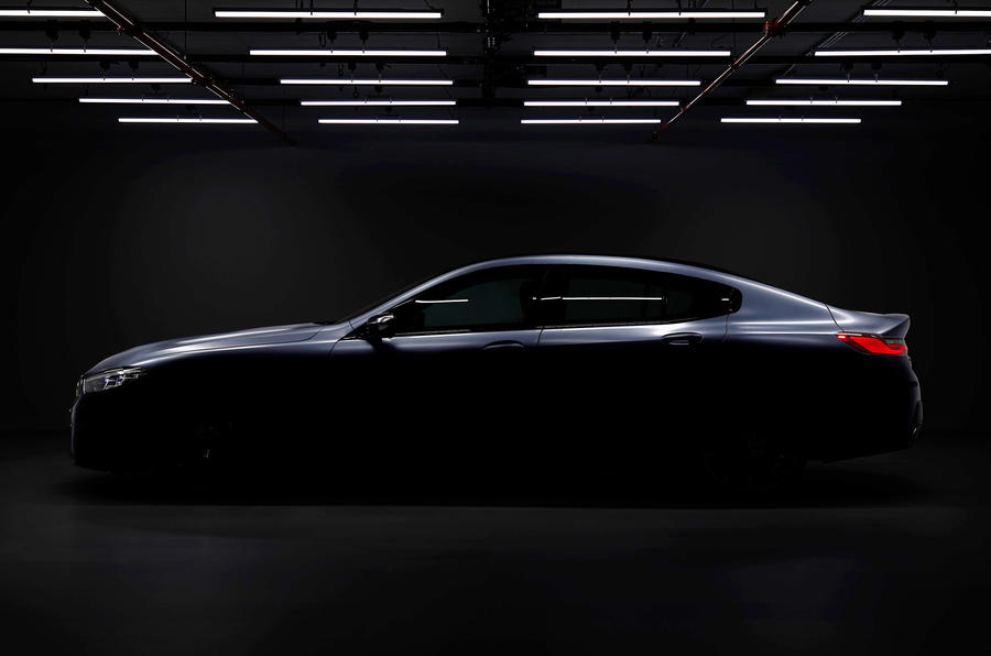 BMW 8 Series Gran Coupe: first official image revealed