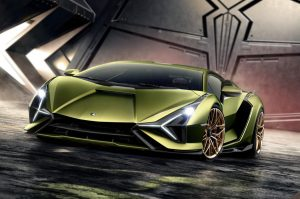 Lamborghini uncovers Sián as new hybrid supercar